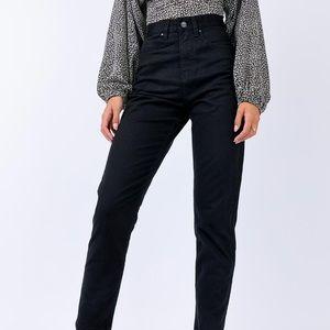 Afends Blondies Slim Black Denim Jeans